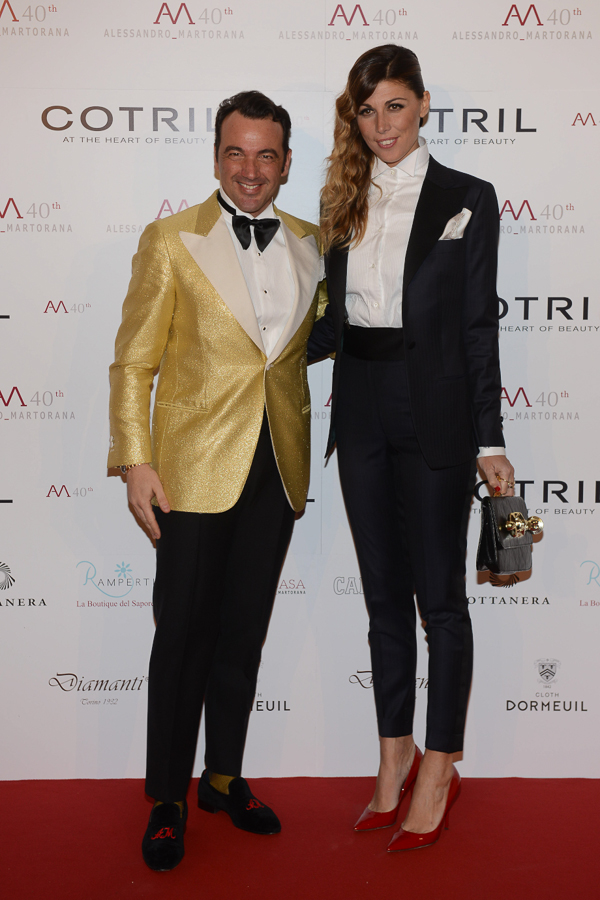 ale with alessandra grillo wearing martorana