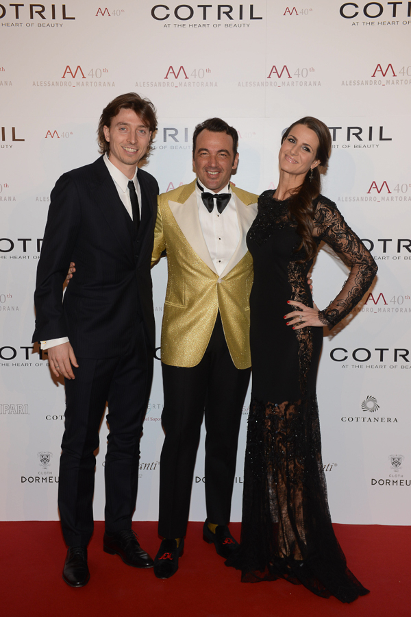 ale with riccardo montolivo and cristina de pin