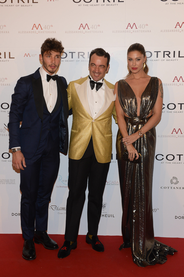 with stefano de martino and belen rodriguez