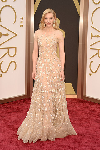 cate blanchett in armani prive'