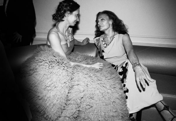 samanta boardman and diane von furstenberg