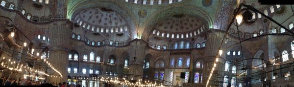22. Moschea Blu Interno