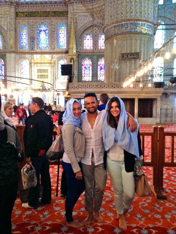 23 Moschea Blu Interno