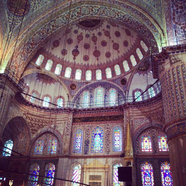 24. Moschea Blu Interno