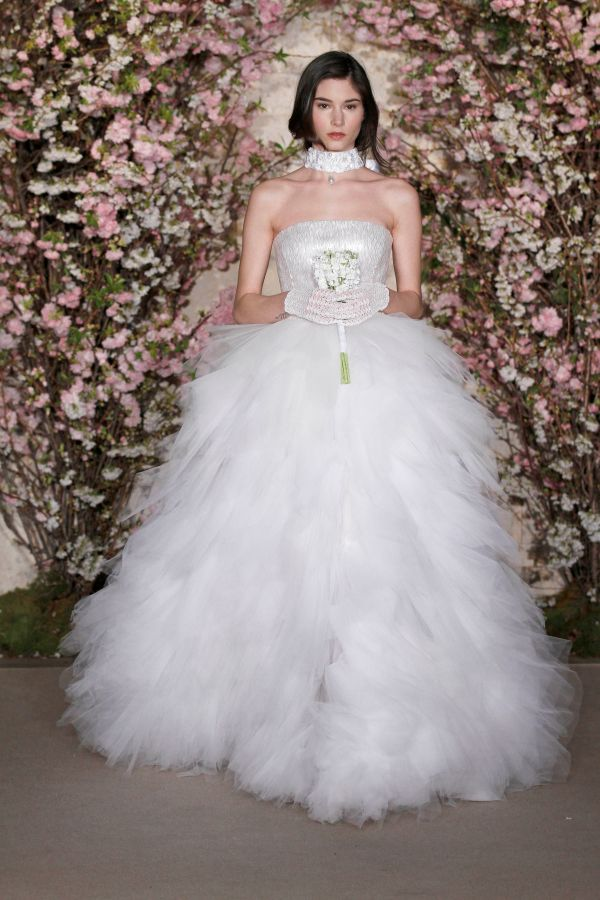 OSCAR DE LA RENTA BRIDAL SS12 NEW YORK 04/11/11