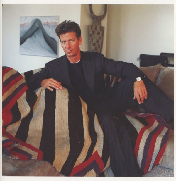 Calvin-Klein-in-his-New-York-Apt-1984