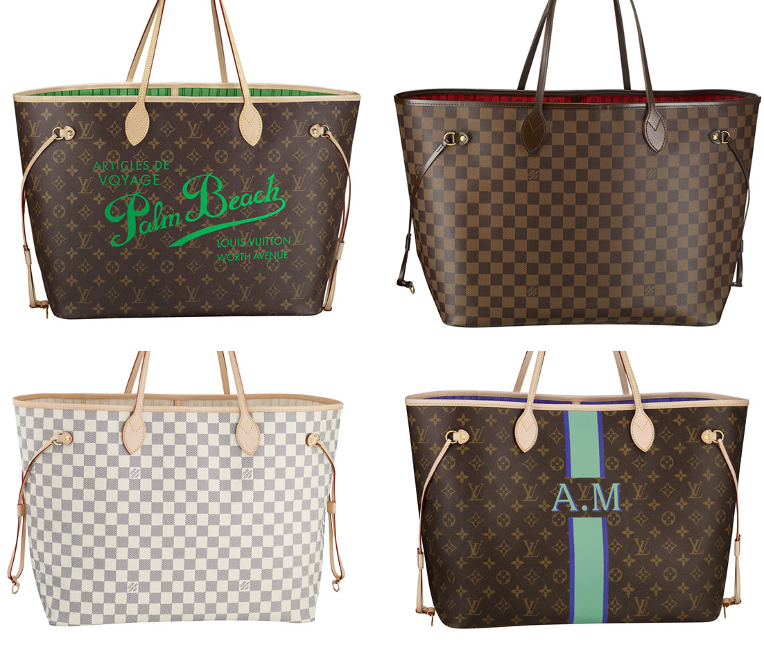 Louis-Vuitton-Neverfull-Bags