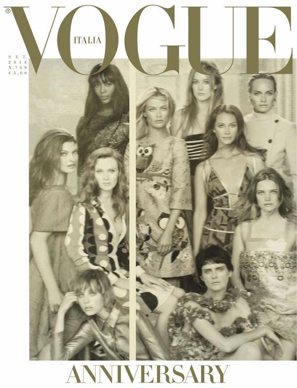 Steven-Meisel-for-Vogue-Italia-September-2014-cover