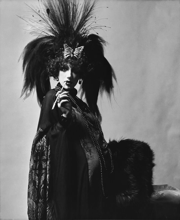 Marisa Berenson Dressed as Marchesa Luisa Casati