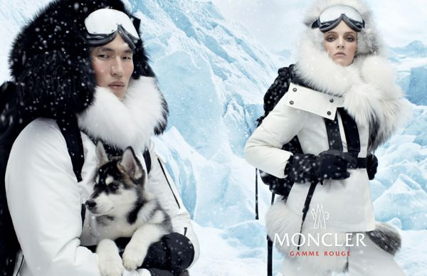 Daria-Strokous-by-Steven-Meisel-for-Moncler-Gamme-Rouge-Fall-2013-Winter-2014-Campaign
