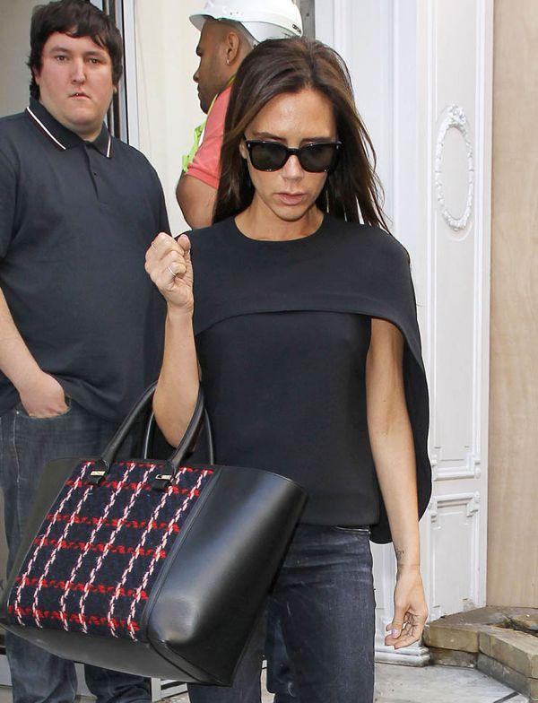 Victoria Beckham Leaves Her London Shop