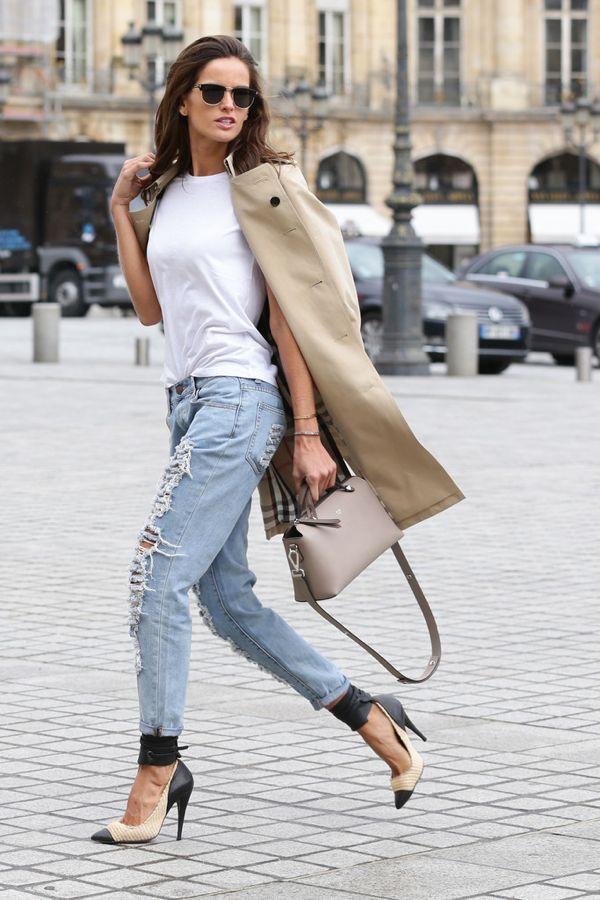Izabel+Goulart+Outerwear+Trenchcoat+iJca_LZsvHAx