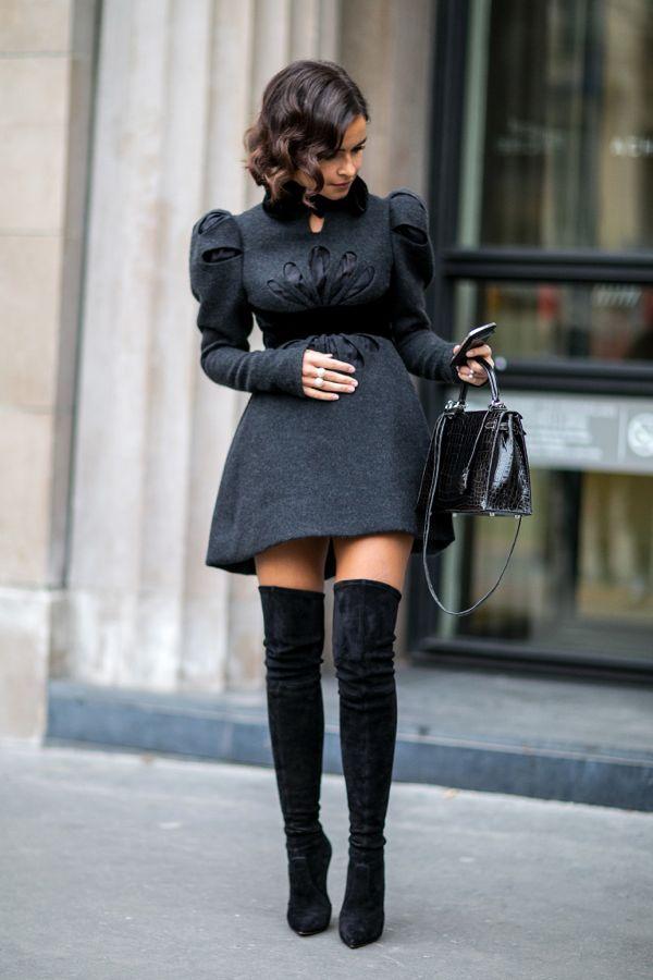 Miroslava-Duma-knows-trick-making-sweet-dress-little