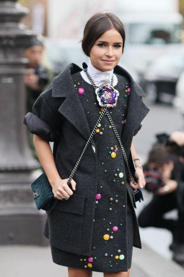 Paris-Fashion-Week-Street-Style-Spring-2013-miroslava-duma-double-bag-chanel
