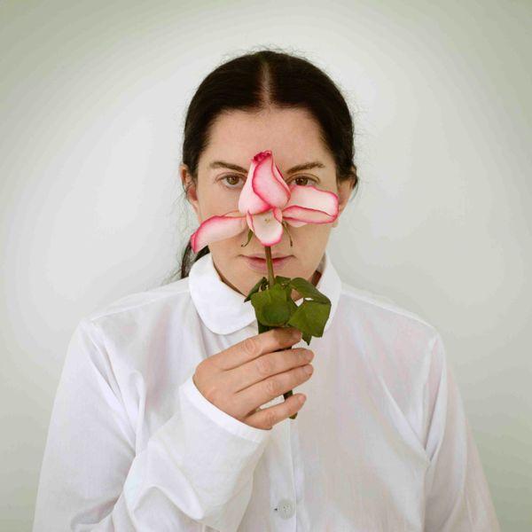 ArtInternational2014-Marina-Abramović-Artist-Portrait-with-a-Rose-2013