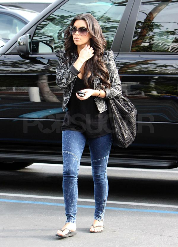 Kim Kardashian At Fred Segal In LA