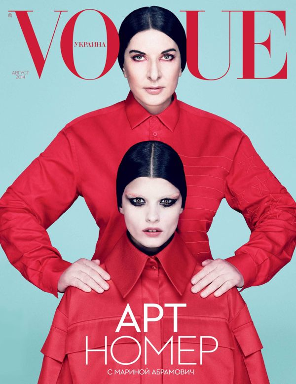 crystal-renn-and-marina-abramovic-by-dusan-reljin-for-vogue-ukraine-magazine-cover-august-2014-the-impression-1