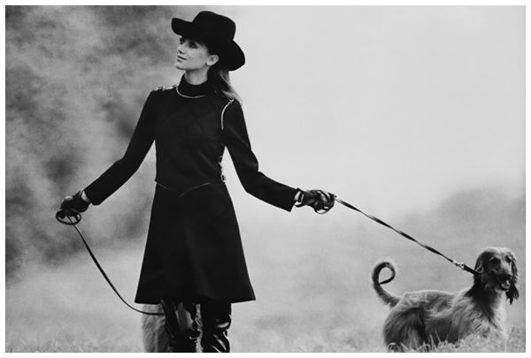 marisa-berenson-in-jersey-vest-and-dress-with-afghan-hounds-1968-photo-arnaud-de-rosnay