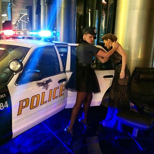 .... E alla fine, sono stata arrestata!!! #arrested #am41 #ambdayparty…