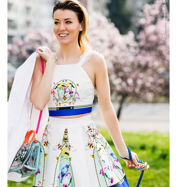 Cherry-blossom-girl. Discover more pics about my outfit on my blog…