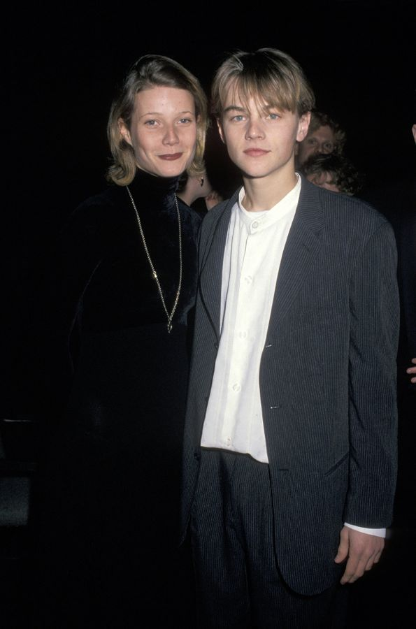 young-Leo-Gwyneth-Paltrow-posed-together-cinema-event
