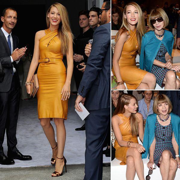 Blake-Lively-Gucci-Milan-Fashion-Week-Show-Pictures