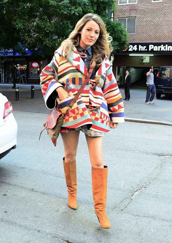 Celebrity Sightings In New York City - October 17, 2014