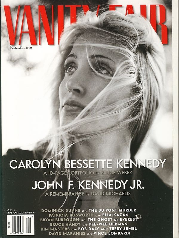 vanity+fair+september+1999+carolyn+bessette