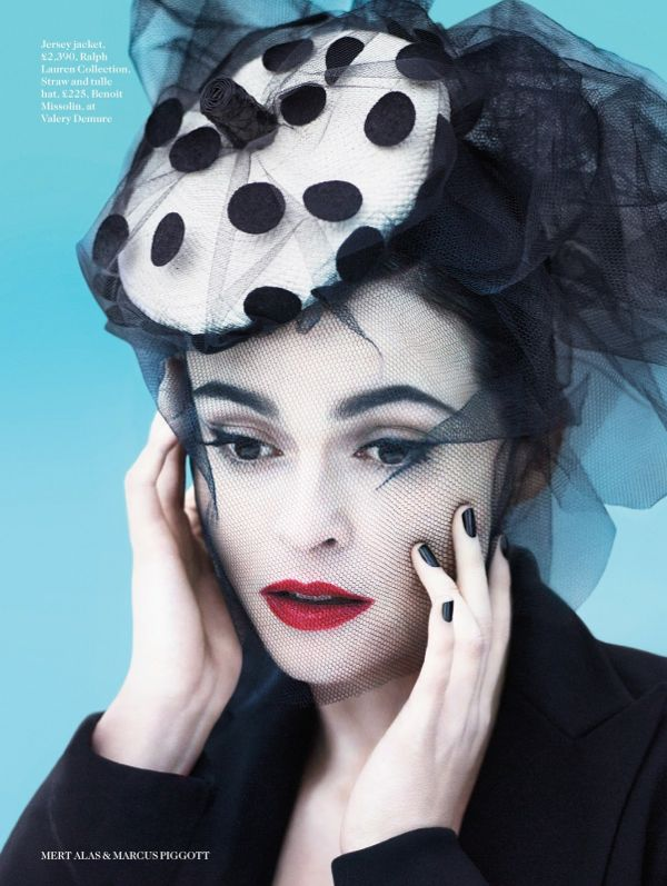Helena Bonham Carter by Mert & Marcus for Vogue UK July 2013 3