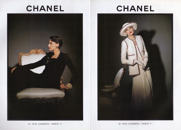 chanel+ad+ines+de+la+fressange+spring+1989+vogue+germany+april_3