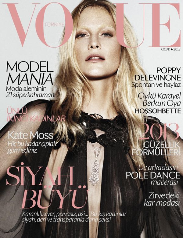 Poppy Delevingne by Alvaro Beamud Cortes (Vogue Turkey January 2013)