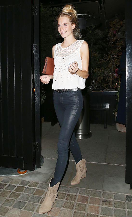 Poppy Delevingne leaving The Firehouse in London