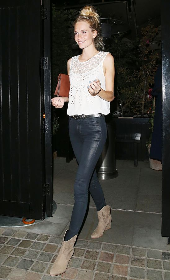 Poppy Delevingne leaving The Firehouse in London