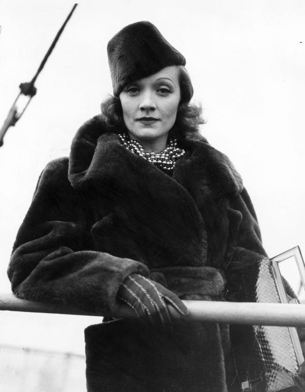 marlene-dietrich-in-mouton-coat-and-cap