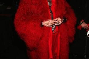 Ralph Rucci - Backstage - Fall 2013 Mercedes-Benz Fashion Week