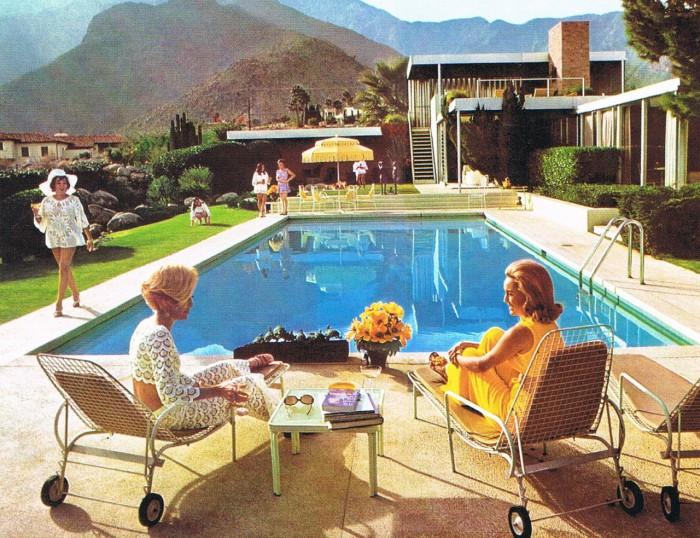 Slim Aarons Poolside Gossip Palm Springs Chic