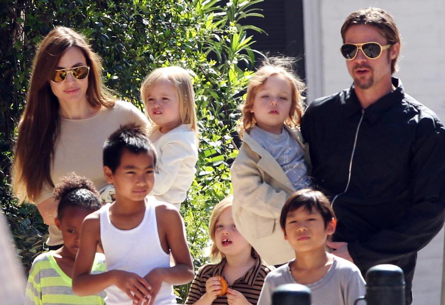 pitt-jolie family