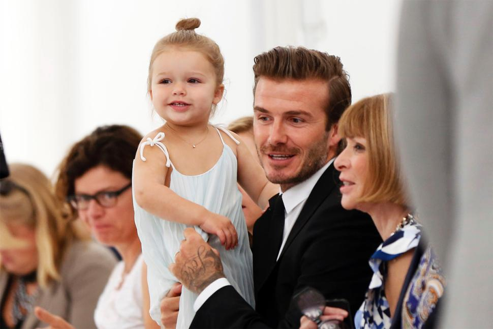harper beckham and david beckham