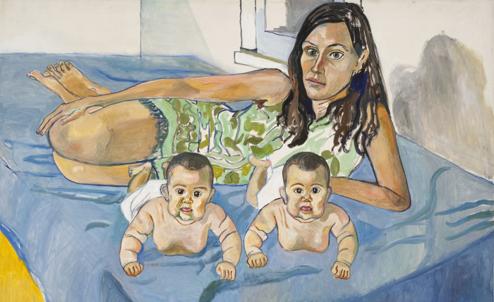 Alice Neel: Nancy and the twins