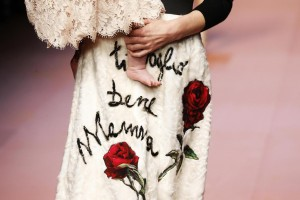 Milan Fashion Week, sfilata Dolce & Gabbana