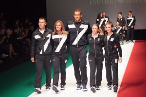 Coni, presentazione uniformi nazionale olimpica italiana Rio 2016