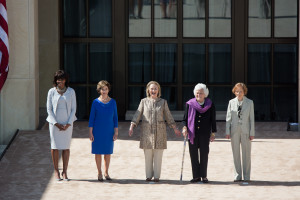 Five_U.S._first_ladies_in_2013