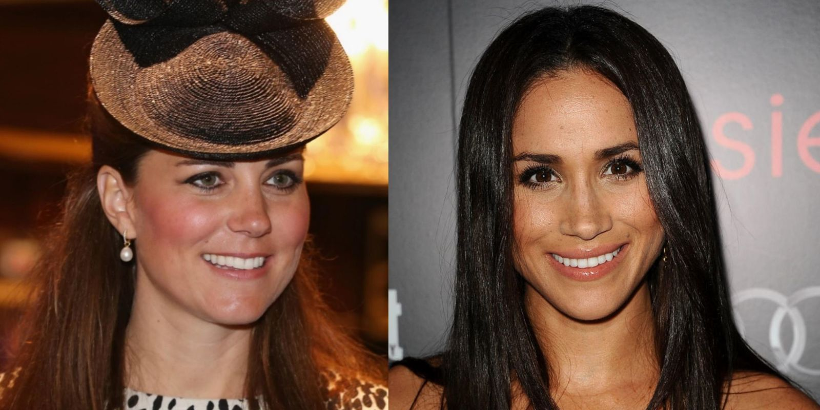 meghan markle vs kate middleton  due principesse a