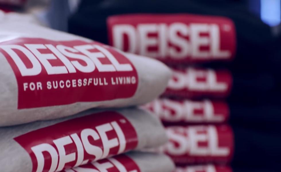 E i jeans Diesel diventano Deisel…